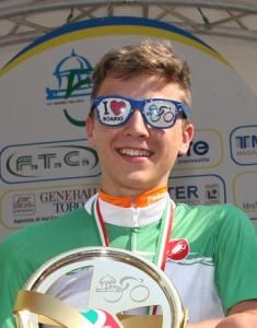 Andrea Bagioli, Campione Regionale della Montagna