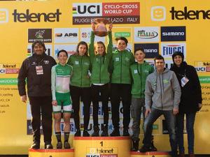Lucia Bramati nella squadra della Lombardia vincitrice della Coppa Italia a Fiuggi