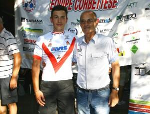 Christian Nardi con la Maglia di Campione Provinciale