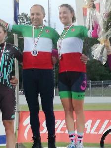 Cordianno Dagnoni neo Campione Italiano con Francesca Pattaro