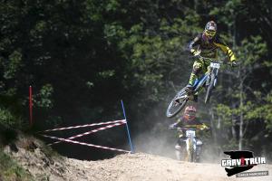 Kevin Bettinzoli in azione