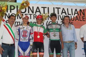 Stefano oldani neo Campione Italiano a cronometro Juniores