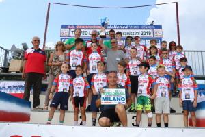 Il team del CP MI vincitore del Trofeo Lombardia 2019