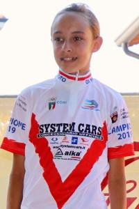 Nadia camoni Campionessa Provinciale G5F