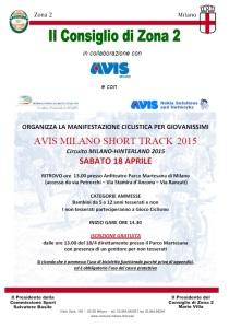Short Track e Gioco Ciclismo Martesana